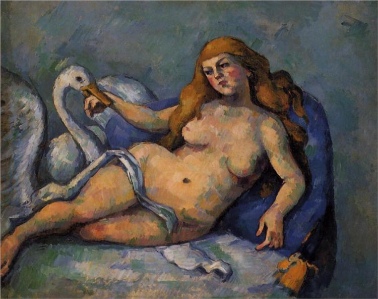 Cezanne 1882-leda-and-the-swan.jpg!Large