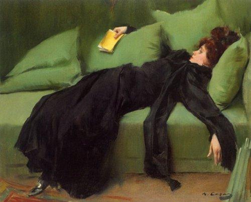 Jove decadent- Ramon Casas