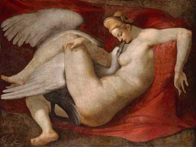 Michalangelo-leda-and-the-swan-1520
